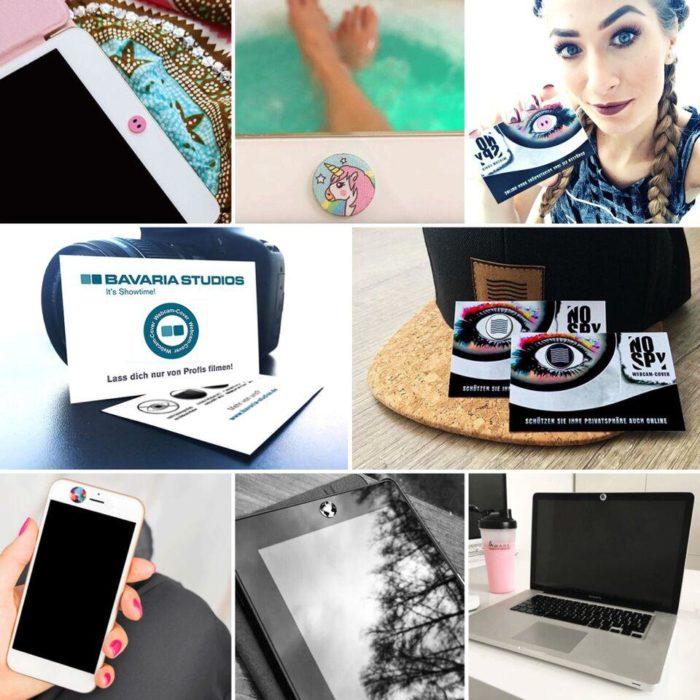 NOSPY Webcam-Cover für Laptops, Tablets, Smartphones