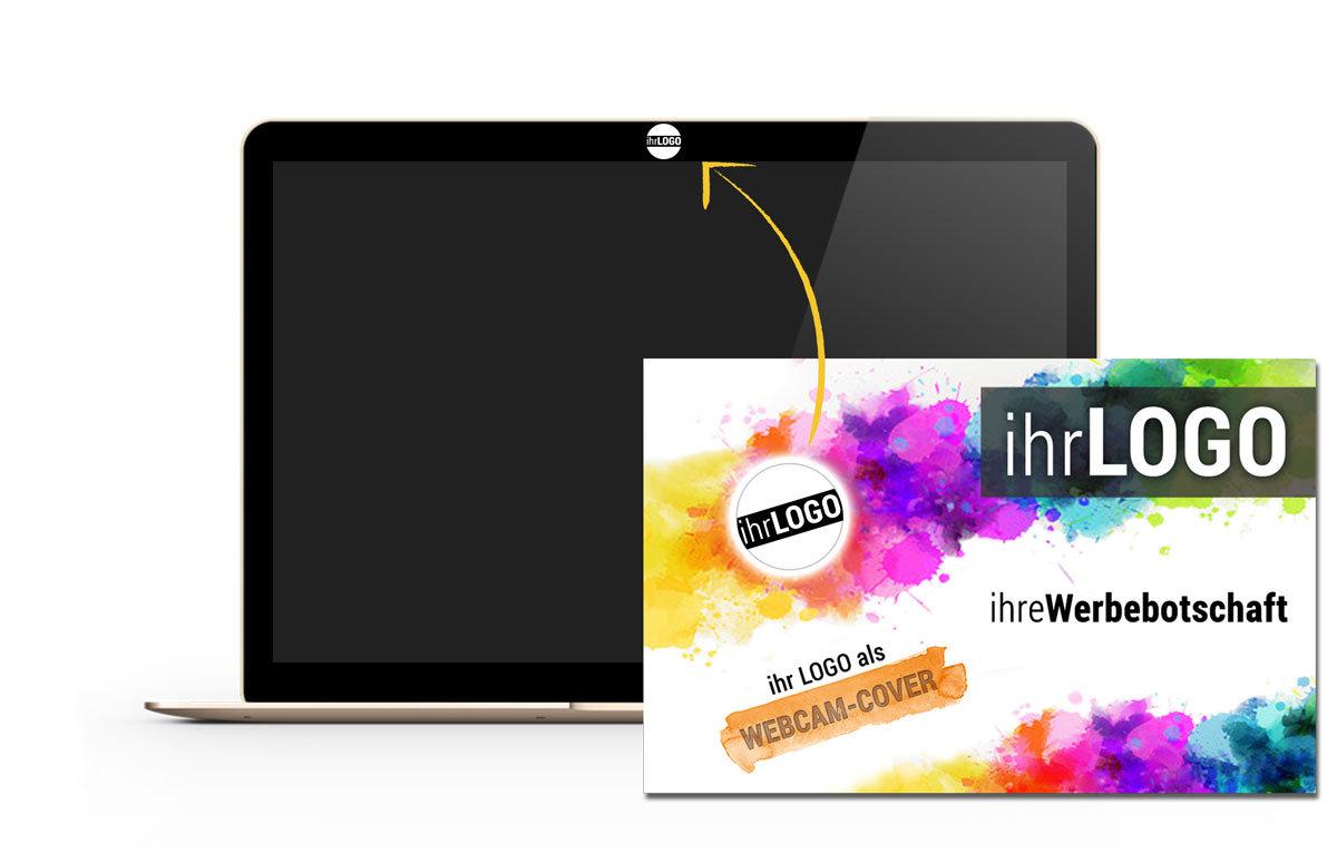 Webcam-Cover selbst gestalten als innovatives Werbemittel